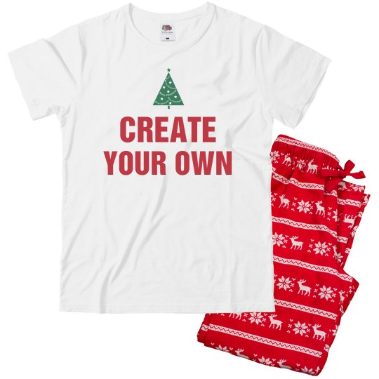 Create Your Own Matching Pajamas