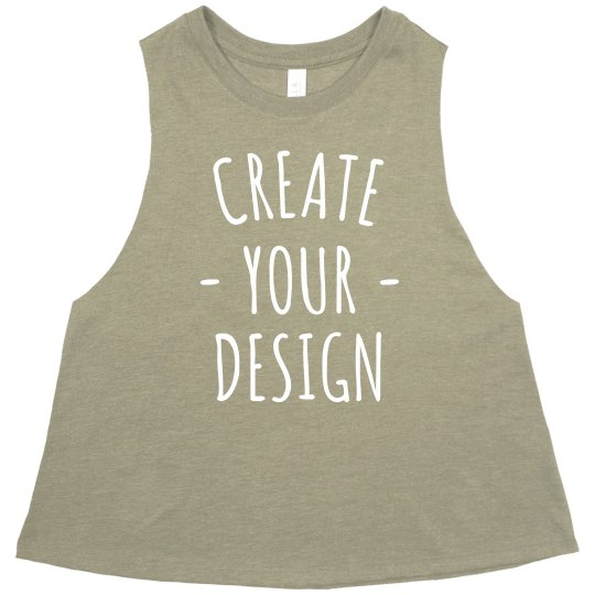 Create your own Racerback Crop
