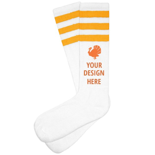 Create Your Own Turkey Trot Socks