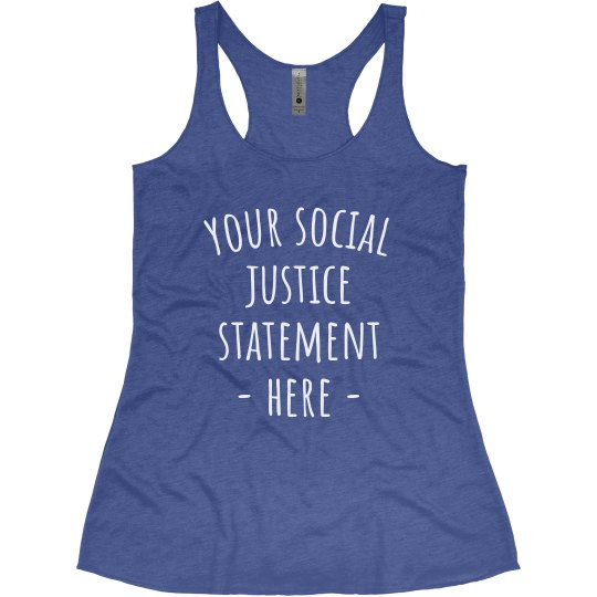 Create Your Social Justice Statement