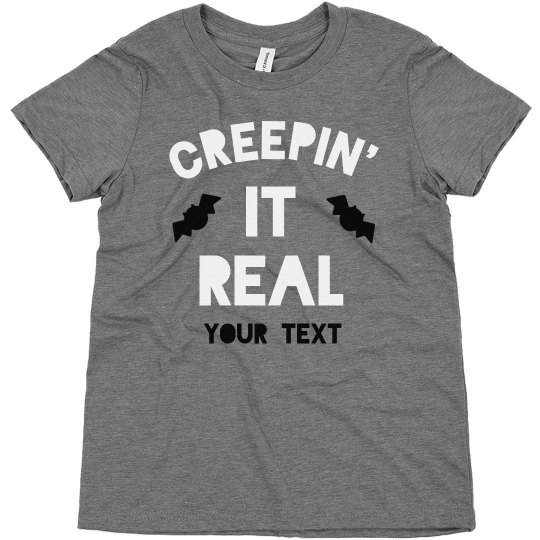 Creepin' It Real Kids Halloween Tee