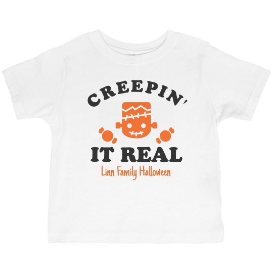 Creepin' It Real Matching Family Tees