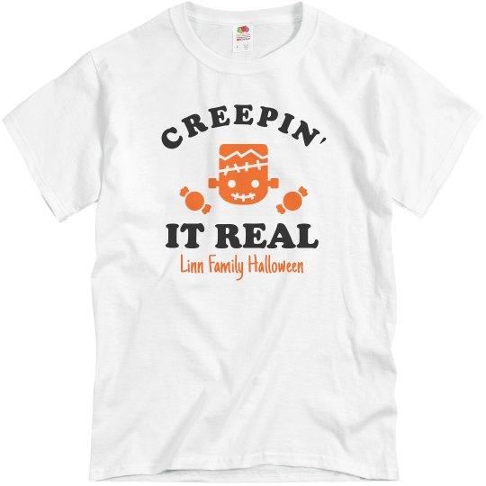 Creepin' It Real Matching Halloween Tees