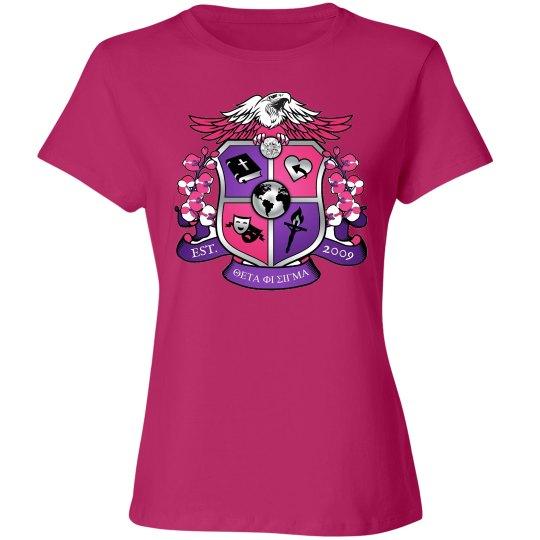 Crest pink shirt