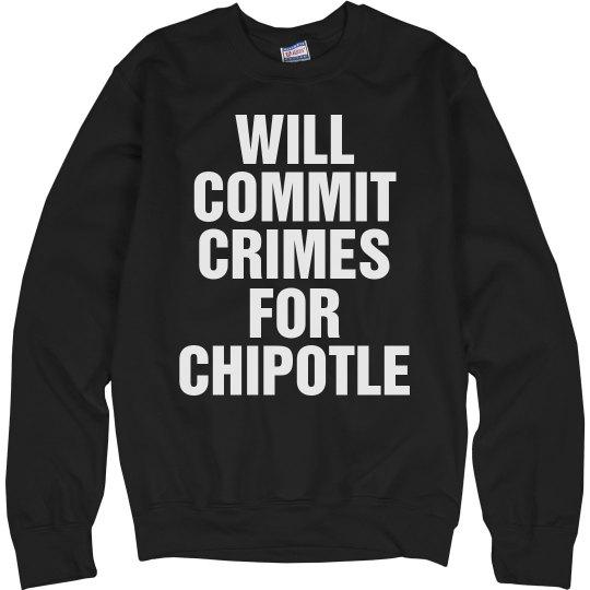 Crimes for Chipotle