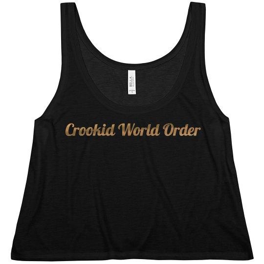 Crookid Script Gold