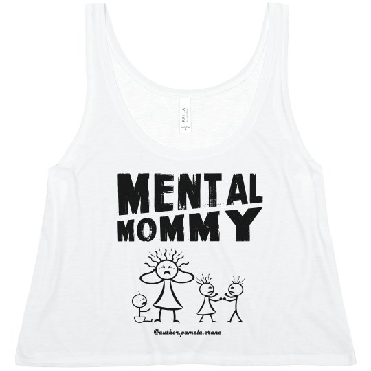 Cropped Mental Mommy Tank