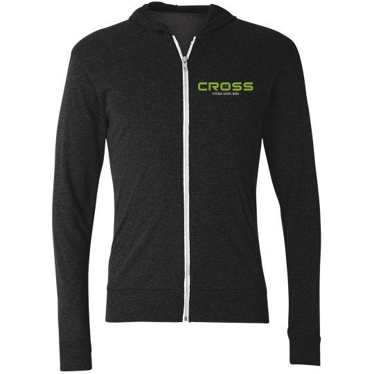 CROSS poppies-zip front SW