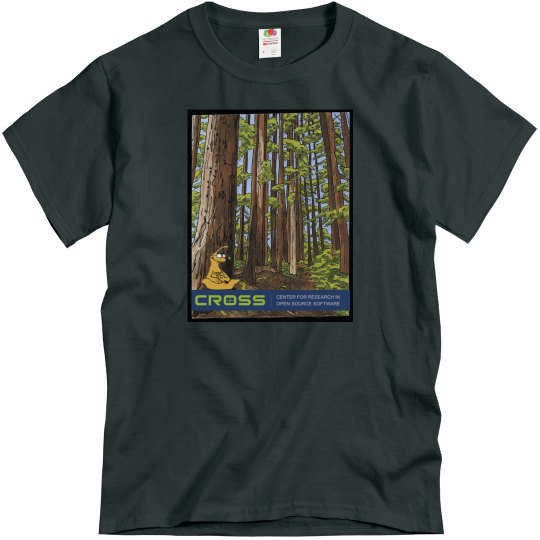 CROSS-Color forest on front