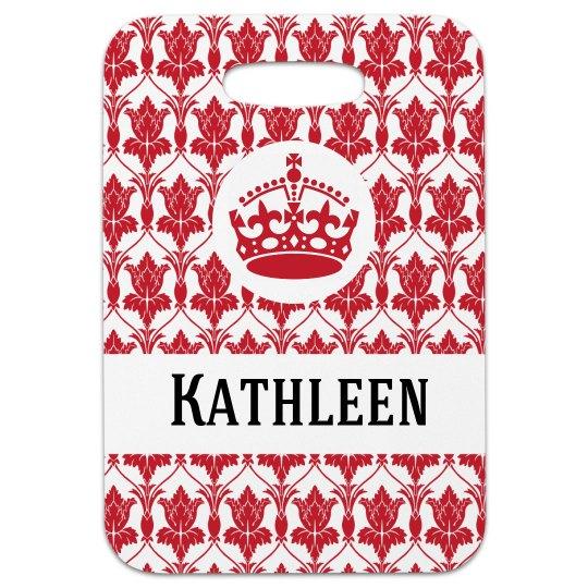 Crown Pattern Tag