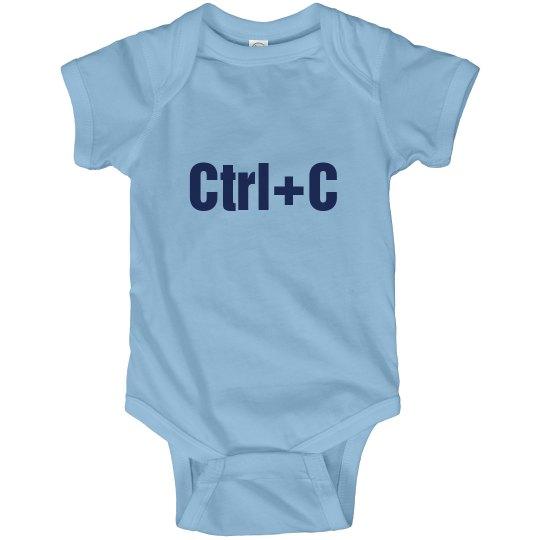 Ctrl+C Twins Bodysuit