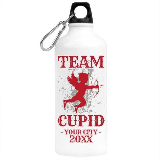 Cupid Run Water Bottle