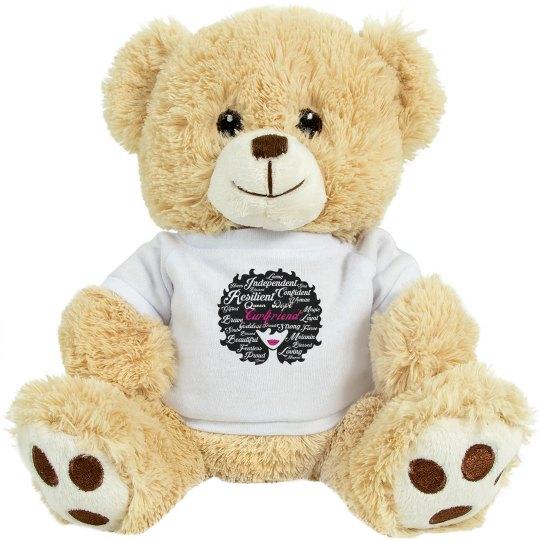 Curlfriend Cuddle Bear