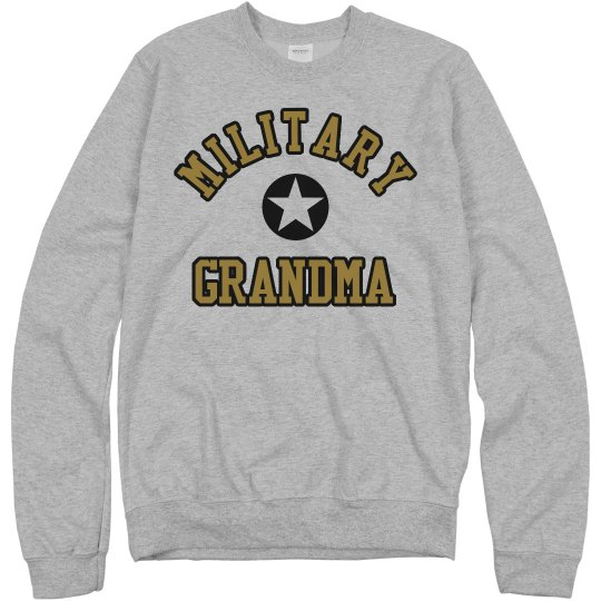 Custom & Proud Military Grandma