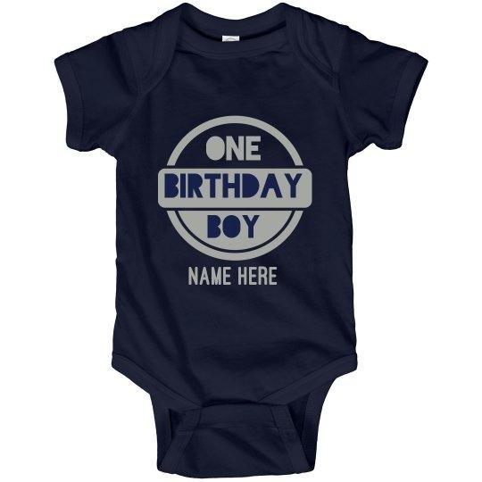 Custom 1st Birthday Bodysuit