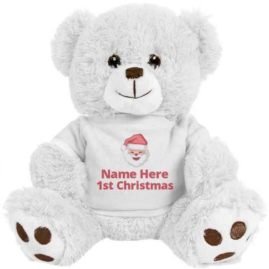 Custom 1st Christmas Bear