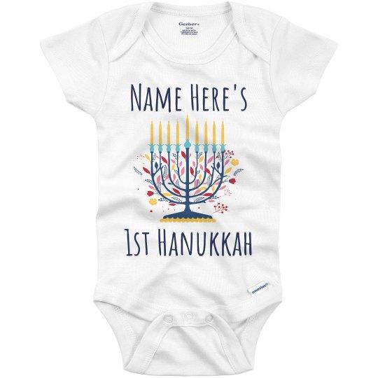 Custom 1st Hanukkah