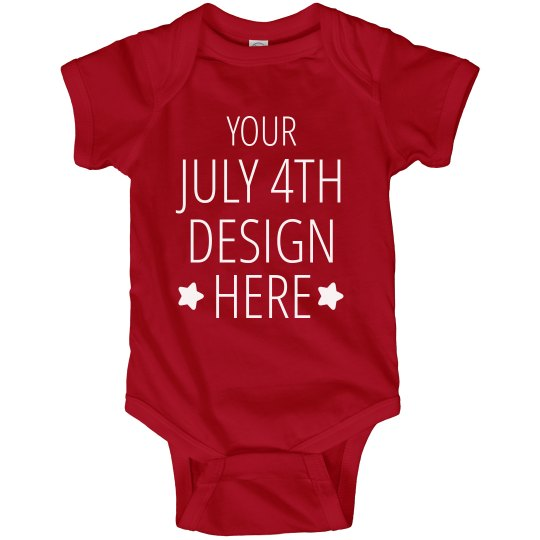Custom 1st July 4th Holiday