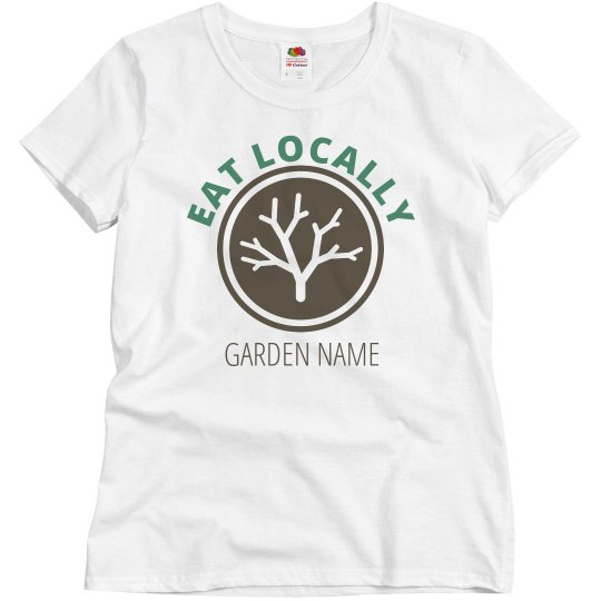 Custom Add Your Garden Logo