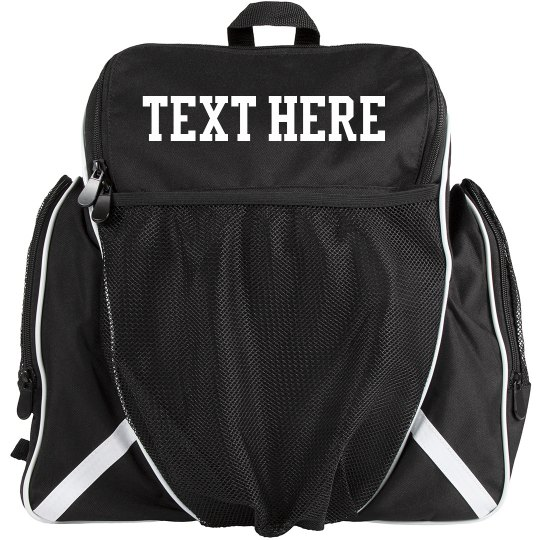 Custom Add Your Text Soccer Carry All