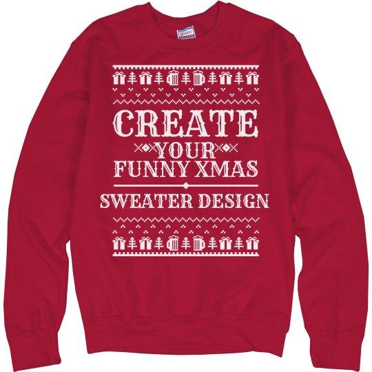 Custom Adult Humor Xmas Sweaters