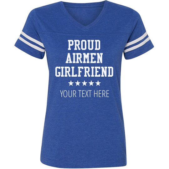 Custom Airmen Girlfriend Top