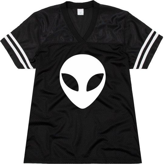 Custom Alien Football Jersey