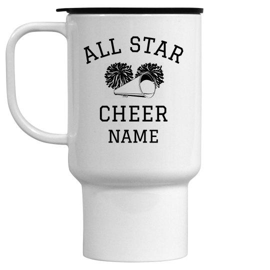 Custom All Star Cheer Mug