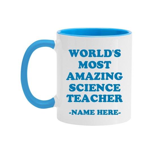 Custom Amazing Science Teacher