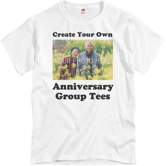 Custom Anniversary Group Shirts