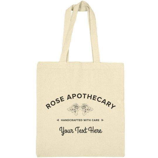 Custom Apothecary Tote Bag