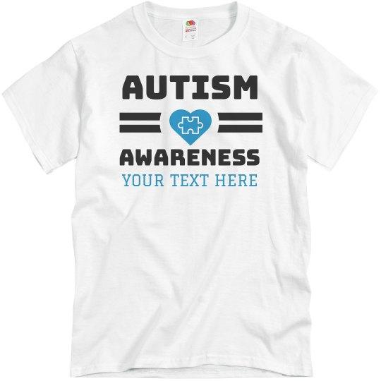 Custom Autism Awareness Tee