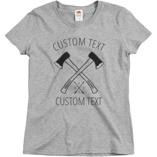 Custom Axe Throwing Bachelorette Tee