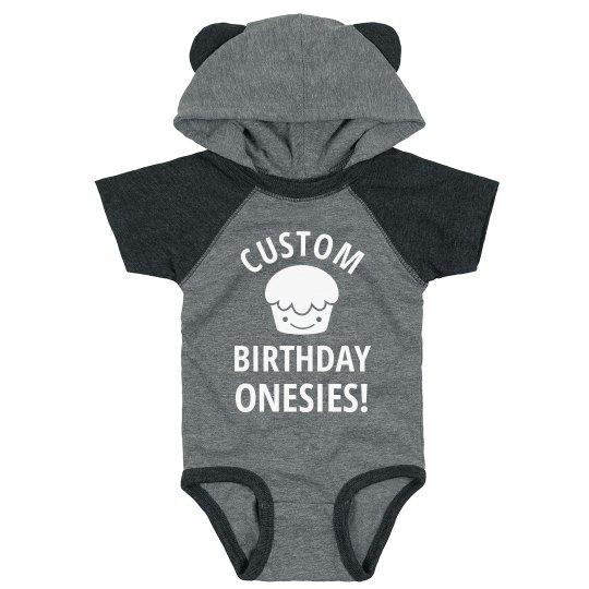 Custom Baby Birthday Designs