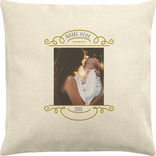 Custom Baby Photo Pillow
