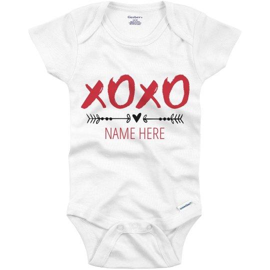Custom Baby Xoxo Valentine's Day