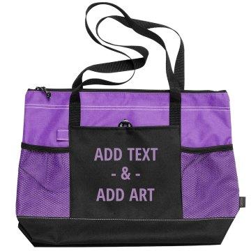 Custom Bags Add text