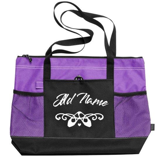 Custom Ballet Dance Bag For Class