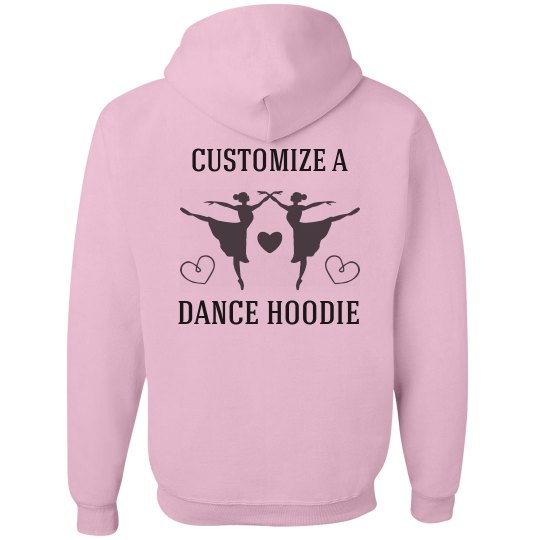 Custom Ballet Hoodie