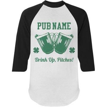 Custom Bar Name St Pattys Day