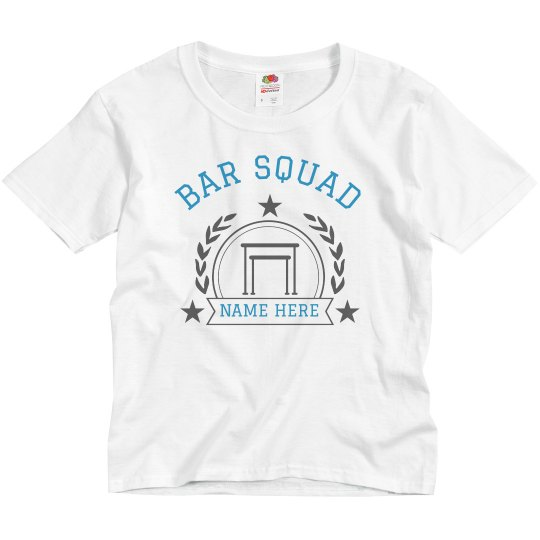 Custom Bar Squad Gymnastics Tee