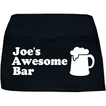 Custom Bar Waist Apron