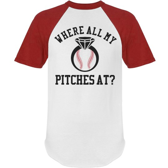Custom Baseball Bachelorette Party Tee