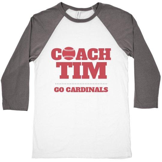 Custom Baseball Coach