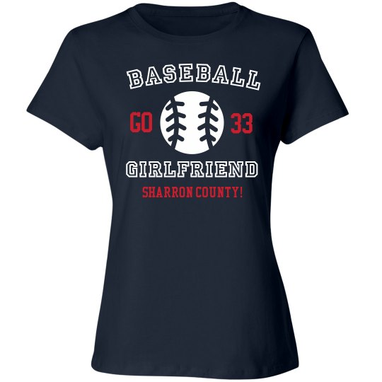 Custom Baseball Girlfriend Shirt
