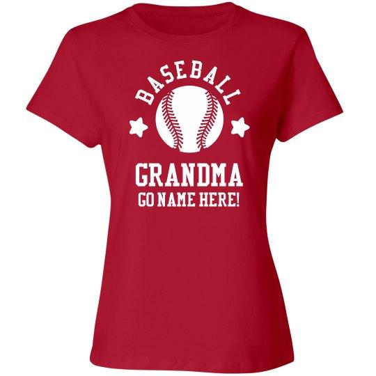 Custom Baseball Grandma