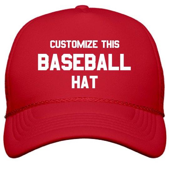 Custom Baseball Hat