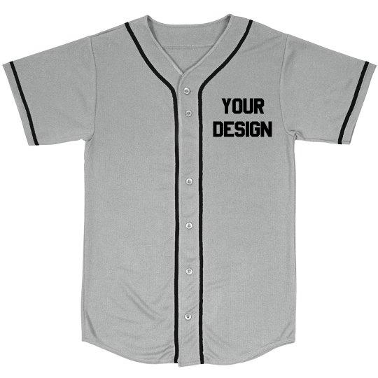 Custom Baseball Jersey No Minimums