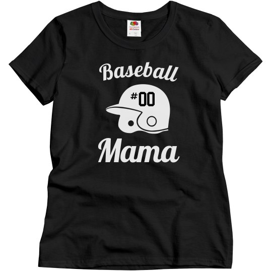 Custom Baseball Mama