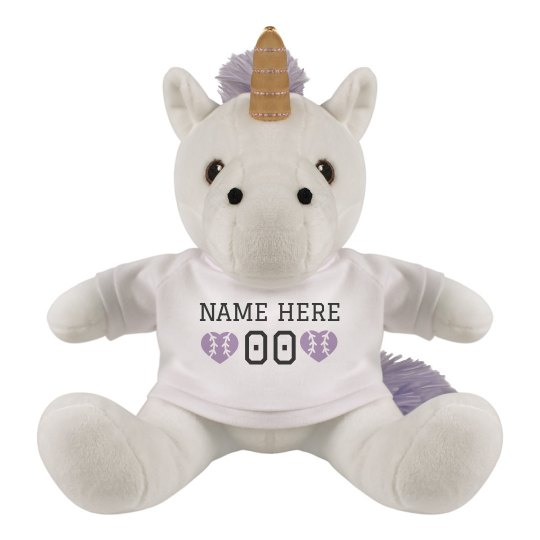 Custom Baseball Unicorn Gift